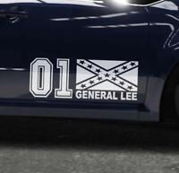 Aufkleber General Lee Sticker Dukes Decals Auto Scooter Roller OEM JDM Kleber