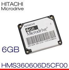 Hitachi Microdrive 6gb hms360606d5cf00 p/n: 0a40269 danap mini disco duro CF HDD