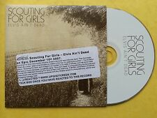Scouting For Girls - Elvis Ain't Dead - CD Single - 1 Track Promo
