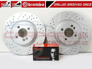 FOR MINI COOPER JOHN COOPER WORKS JCW FRONT COATED BRAKE DISCS BREMBO PADS 316mm
