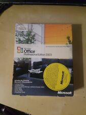 Microsoft  Office Professional Edition 2003 (Retail) (1 User) - Full Version fo…