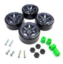4PCS 1/10 RC Rims Speed Racing Car Drift Tires Drifting Wheel Modified Parts