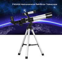 90X  Astronomical Telescope Monocular Space Optical Glass Aluminum + Tripod CHW