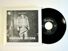 "NERVOUS EATERS JUST HEAD 7"" SINGLE IMPORT VINYL BOSTON PUNK ROCK N' ROLL"