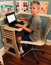 Pop Up Desk Kids Adjustable Height for Kids or Adults Back to School Homeschool