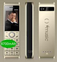 Big Mobile Cell Phone Luxury GSM Loud Sound MTK Retro Dual SIM Standby 8700mAh
