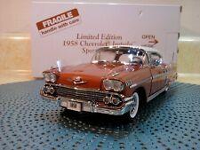 Danbury Mint 1958 Chevy Impala.1:24.Rare Le Coupe.Nos.Undisplayed.Fla wless