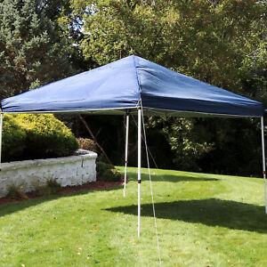 Sunnydaze 12x12 Foot Standard Pop-Up Canopy Shade - Blue