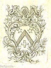 EX-LIBRIS de Joseph-Laurent PHILIP. Provence.