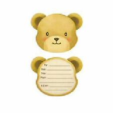 Teddy Bear Picnic Childrens Party Invitations x 8
