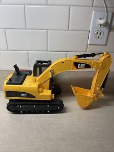 Vintage Toy State Cat Caterpillar Excavator Light Sound Motion Bucket Tested
