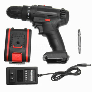 68VF Cordless Electric Drill Screw Unscrew Lithium Machine Tool & 1Pc Battery