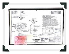 NASA SKYLAB URINE CUFF AND DRAWING RARE ARTIFACT SEE DESCRIPTION