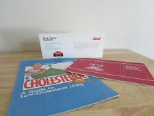 1 Lot - Healthy Eating Booklets Cholesterol Diabetes High Blood Pressure Vintage