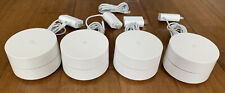 Google WiFi Dual-band Mesh System 4 Pack Great Condition