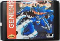Mazin Saga: Mutant Fighter (1993) 16 Bit For Sega Genesis / Mega Drive System