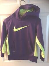 NIKE  THERMAL FIT HOODIE LONG SLEEVE POUCH POCKETS PULLOVER SIZE BOY'S SMALL