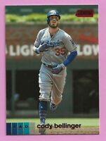 2020 Topps Stadium Club Red #130 Cody Bellinger Los Angeles Dodgers