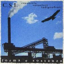 C.S.I. - Forma E Sostanza [New Vinyl LP] Italy - Import