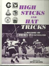 High Sticks & Hat Tricks 1996 Cleveland Hockey Barons Crusaders Fred Glover