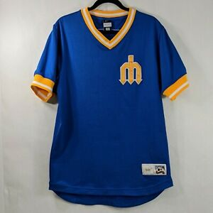 Nike Seattle Mariners JAY BUHNER Jersey Men's Small Cooperstown Stiched Vintage