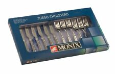 Monix - Cuberteria 12 Pza cuchillo Chuletero Milan