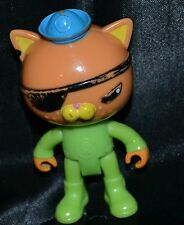 "2.75"" Kwazii Kitten The Octonauts Aquanauts Cat Action Figures Figurines Toys"