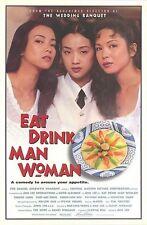 EAT DRINK MAN WOMAN ORIGINAL MOVIE POSTER ANG LEE