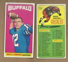 1965   TOPPS  FOOTBALL  DARYLE  LAMONICA  #  36   EX MINT