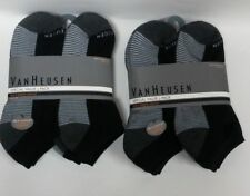 2 Pack Men's Van Heusen 6 Pack ea, Low Cut 6-12.5