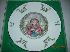 "Royal Doulton ""Merry Christmas"" 1978 Plate"