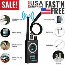 Hidden Camera GSM Audio Bug Finder GPS Signal Lens RF Tracker Anti Spy Detector
