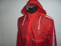 vintage 80s Adidas Ventex Regenjacke Nylon Jacke oldschool glanz 80er Gr. D4/46