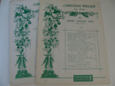 Christmas Prelude Op 32 No 5 1925 by Henry Holden Huss