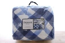 Charter Club 3-PC FULL/QUEEN Comforter Set Damask Designs Painted Plaid B99403