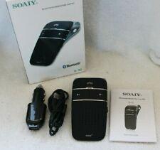 SOAIY® S32 Auto Kfz Bluetooth V4.0 Freisprecheinrichtung Freisprechanlage Clip