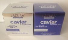 Aldi LACURA Caviar Illumination ANTI-AGE Day & Night Cream BNIB Cruelty Free