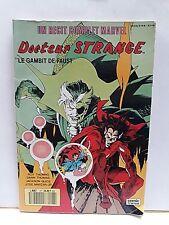"""RECIT COMPLET MARVEL N° 27  DOCTEUR STRANGE """"LE GAMBIT DE FAUST"""" 1990"""