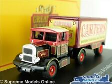 SCAMMELL CONTRACTOR MODEL TRUCK 1:76 CARTERS CORGI GREATEST SHOW 4654112 K8