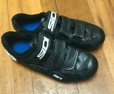 SIDI Black Road Cycling Shoes 39 (5.5 -6)  men/ ( 7-7.5) women Mint loose screws