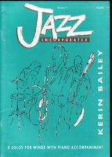Jazz Incorporated Flute - Volume 1 - 8 Solos For Winds With Piano