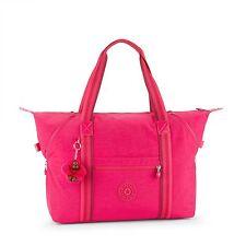 BNWT Kipling ART M Medium Travel Tote Bag CHERRY PINK C - SPF2017 RRP £99