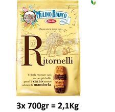 3x Mulino Bianco Kekse Ritornelli 700g Italien biscuits cookies kuchen brioche