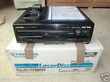 Pioneer CLD-D925 High-End LaserDisc Player, OVP, sehr gepflegt, 2J. Garantie