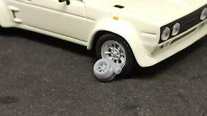 Turbo 1/43 scale custom 3D printed resin - Hot Wheels, Matchbox, Diorama