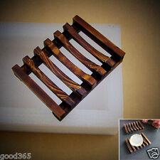 Bath Accessories Handmade Natural Wood Soap Dish/Soap Holder Woodiness Soap Dish