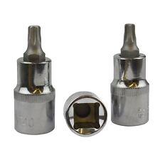 Embout Torx T40 / Star mâle 1/2pouce des sockets de bits 3pc Bergen à779