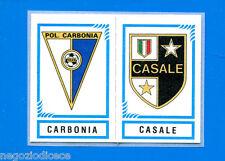 CALCIATORI PANINI 1982-83 - Figurina-Sticker n. 566 - CARBONIA#CASALE -Rec