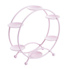 Cupcake Stand Metal Dessert Cake Cookies Holder Wedding Party Display Pink