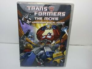 Transformers: The Movie (DVD (1986)  Canadian, 2-Disc 20th Anniversary Edition)